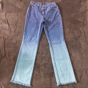 ‼️3 for $15‼️ Ralph Lauren blue ombré flare jeans